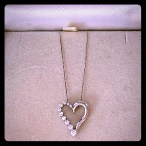 Ultra Diamonds (now Kay Jewelers) heart necklace